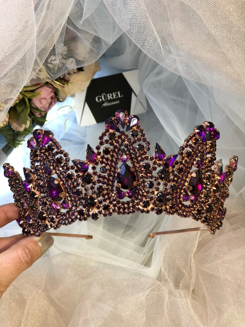Crystal Purple Crown