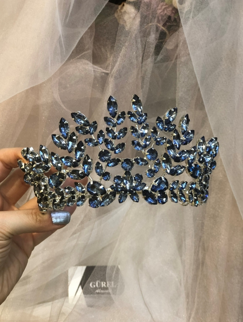 Crystal Indigo Crown
