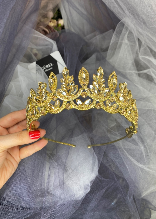 Crystal Gold Crown