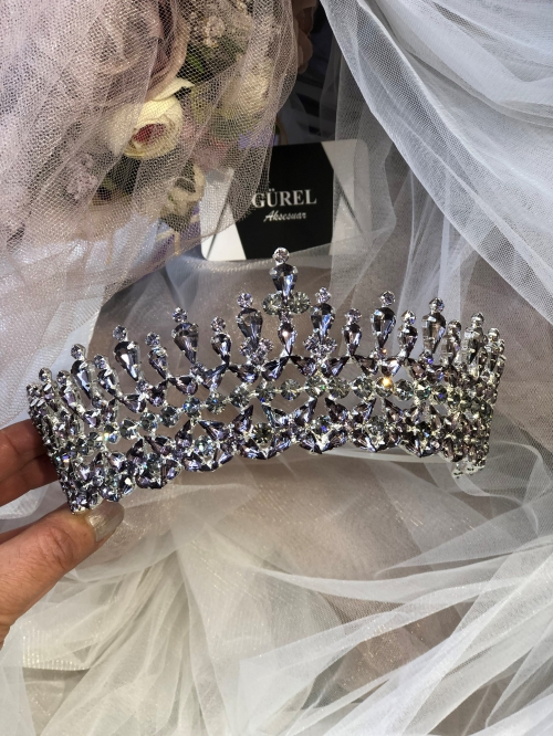 Crystal Lİlac Crown